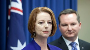"Besieged: Prime Minister Julia Gillard continues to disprove the adage ""Things couldn't get any worse""."