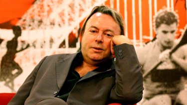 Christopher Hitchens.
