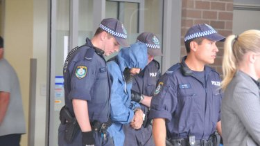 Malcolm Naden following his 2012 arrest.