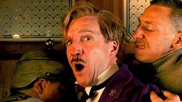 Ralph Fiennes dominates <i>The Grand Budapest Hotel</i>.