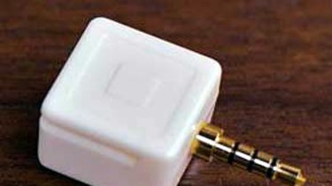 The Square card reader for mobile devices... payments on the go.