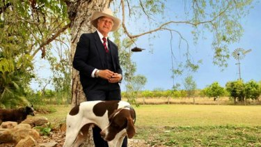 Bob Katter at home in Charters Towers.