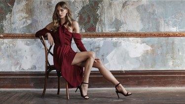 Genevieve drape dress.