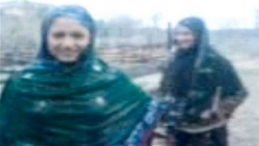 The sisters were filmed dancing in the rain before being shot dead in an apparent 'honour' killing.