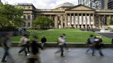 The State Library of Victoria will have a new entrance as part of its $83.1 million revamp.