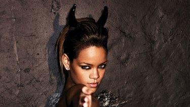 """It's actually a very metaphorical song"" ... Rihanna."