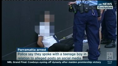 Student arrested and charged outside Arthur Phillip High