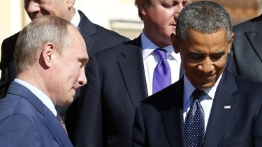 """""""My working and personal relationship with President Obama is marked by growing trust. I appreciate this."""" President Vladimir Putin."""