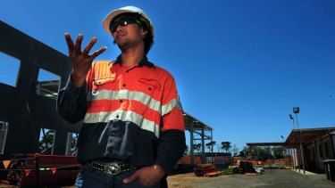 Jessie Marcilang, from the Phillipines is working in Australia on a 457 visa at Melbourne's Werribee treatment plant.