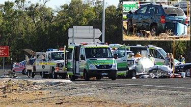 Oliver's mother believed injured in double fatal crash