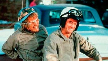 Jeff Daniels and Jim Carrey in <i>Dumb & Dumber</i>.