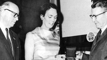 Maverick scientist and conservationist … Erna Bennett was awarded the Meyer Memorial Medal in 1971.
