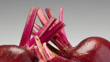 Purple power ... beetroot juice can increase endurance.