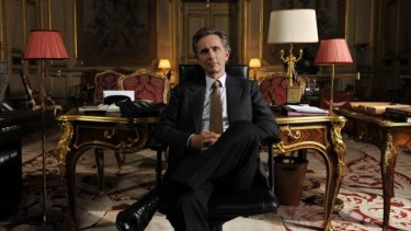 Thierry Lhermitte as Alexandre Taillard de Worms in <i>The French Minister</i>.