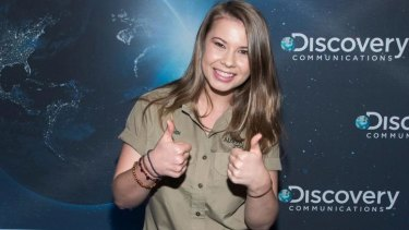 Bindi Irwin attends Discovery's 30th Anniversary Celebration in New York in July.