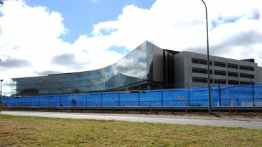 The ASIO site in Russell has been plagued by delays and budget blowouts.
