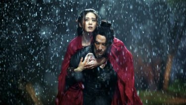 Swashbuckling: Cecilia Liu and Chang Chen in <i>Brotherhood Of Blades</i>.