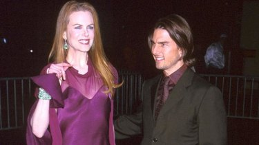 Tom Cruise and his former wife Nicole Kidman.
