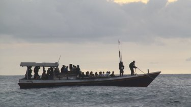 End of voyages: Government policies have halted the stream of boats carrying asylum seekers heading toward Australia.