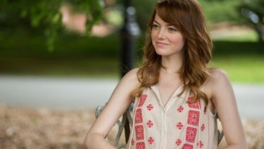 Emma Stone in <i>Irrational Man</i>, directed by Woody Allen.