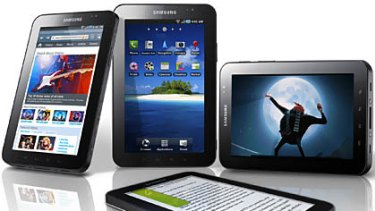 Samsung's Galaxy Tab it plans to release later this year.