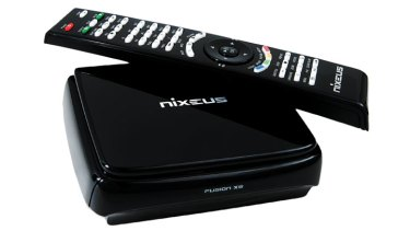 Nixeus Fusion XS Android media player.