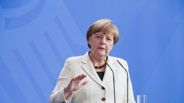 """If principles are not upheld, the euro will fail."": Germany's chancellor Angela Merkel."