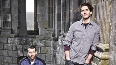The men behind the throne ... David Benioff and Dan Weiss.