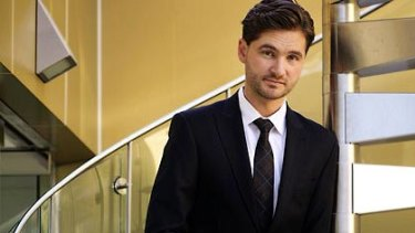 7pm Project host and Movember spokesman Charlie Pickering.
