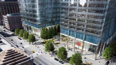 Manhattan West: New York Rail Corridor.
