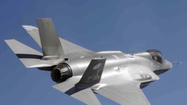 On schedule ... the F-35 Joint Strike Fighter.