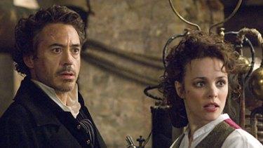 Super-sleuth ... Robert Downey Jr stars with Rachel McAdams in Sherlock Holmes.