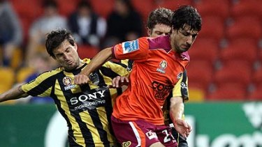 Brisbane Roar playmaker Thomas Broich.