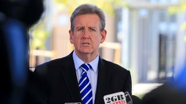 There are big changes under way in the NSW natural gas markets: NSW Premier Barry O'Farrell.
