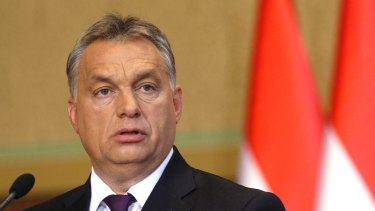 "Hungarian Prime Minister Viktor Orban supports ""illiberal democracy""."