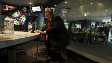 Gauntlet: Clive Palmer gets twerky.