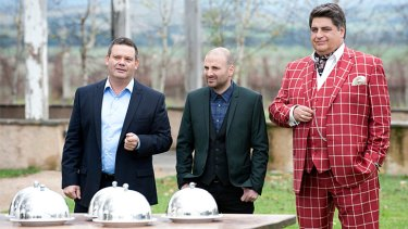 Deja vu: Once again the <i>MasterChef</i> judges hit the great outdoors, with more mystery ingredients.