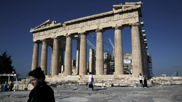 Greek workers are increasingly worried about whether they'll continue getting paid.