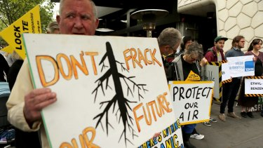 Fracking has met with continued resistance in Australia.