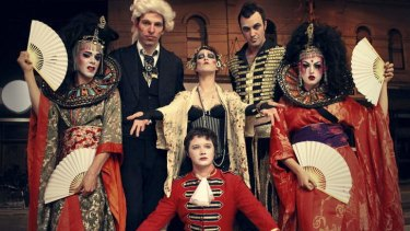 Cabaret queen: Amanda Palmer and the Grand Theft Orchestra.