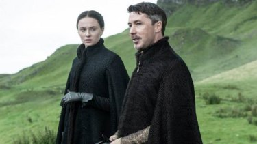 Where are Sansa Stark and Littlefinger going?