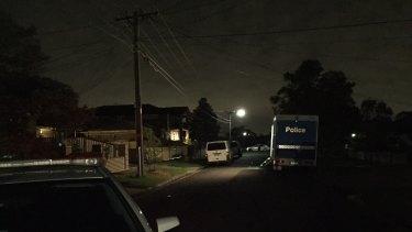 Crime scene in Dallas, where a woman's body has been discovered.