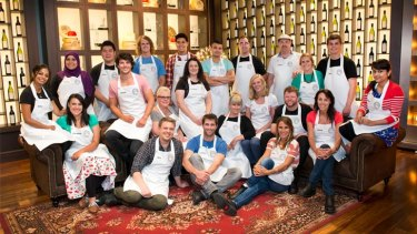 Cooking up a storm? The MasterChef contestants for 2013.