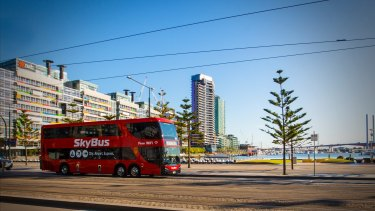 """Just because you build an airport rail, it doesn't mean people want to use it,"" said Skybus director, Michael Sewards."