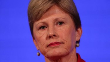Direct Action offer: Greens Leader Senator Christine Milne at the National Press Club in Canberra.