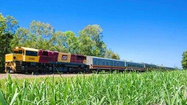 The Sunlander train.