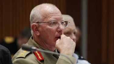 Expressed regret ... Defence chief, General David Hurley.