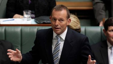 """""""Completely pointless exercise"""" ... Tony Abbott on the Government's carbon tax."""