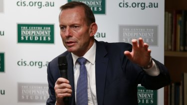 The Warringah motion emerged from Tony Abbott's federal electorate conference