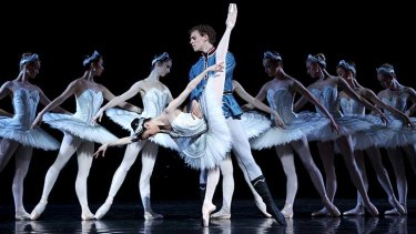 Dynamic duo &#8230; the strong partnership of Amber Scott and Adam Bull is among many notable performances in the Australian Ballet's new <em>Swan Lake</em>.